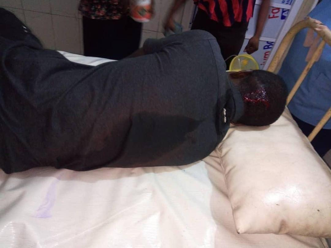 Graphic: SARS officers allegedly kill lady, leave her boyfriend unconscious in Lagos