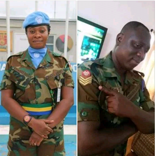 Photos: Army couple , four others killed after heavy rainfall in Ghana