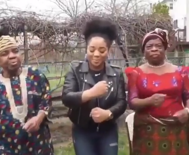 This video of a Nigerian lady teaching her grandparents some dance moves is the most hilarious yet sweetest thing on the internet today