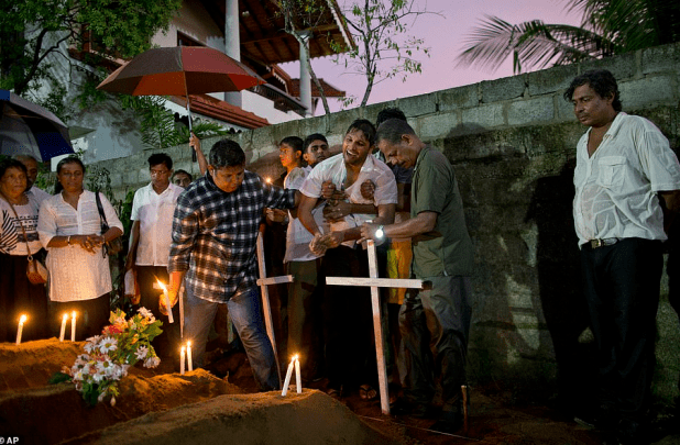 British dad searching for his wife, daughter and son confirms they were killed by suicide bomber in Sri Lanka