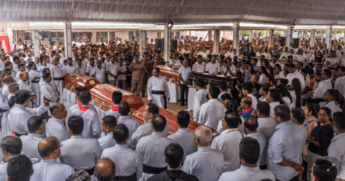 ISIS claims responsibility for Sri Lanka terror attacks as death toll rises to 321