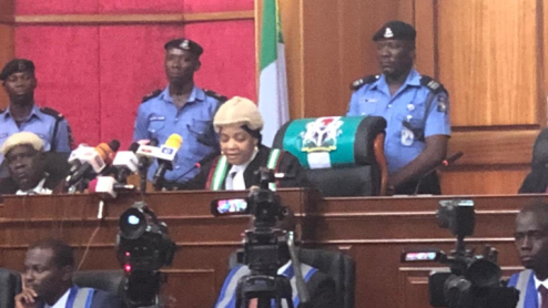 Photos: Presidential election tribunal begins sitting, vows to be fair to all