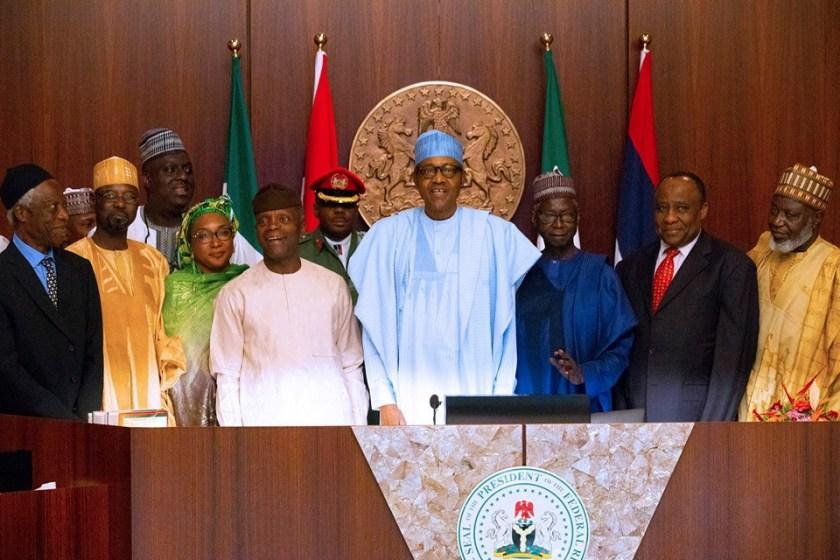 President Buhari inaugurates the North East Development Commission