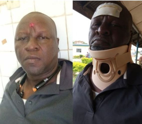 Lagos State Commissioner for Information, Kehinde Bamigbetan narrowly escapes death in auto-crash (Photos)