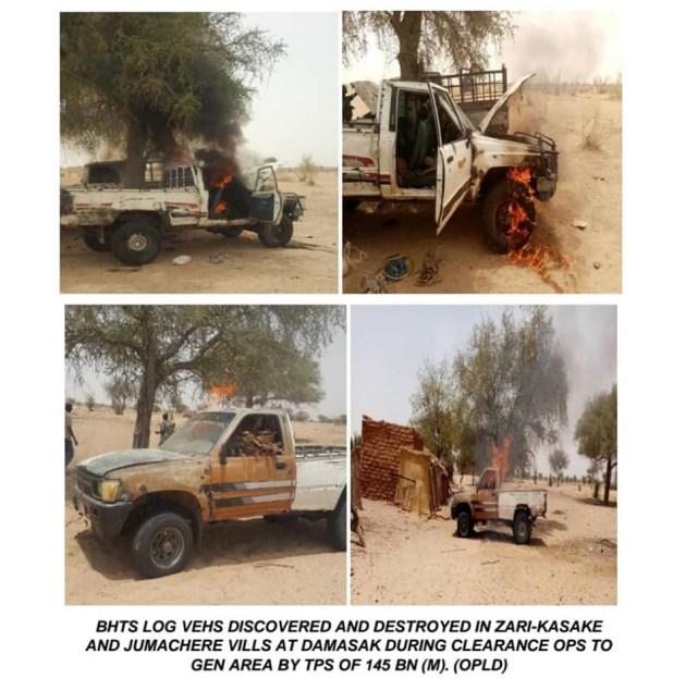 Troops rescue 29 women, 25 children from Boko Haram terrorists in Borno (photos)