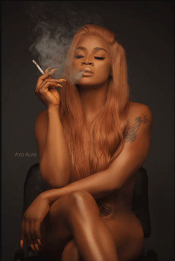 Uche Ogbodo releases nude photos to mark her birthday