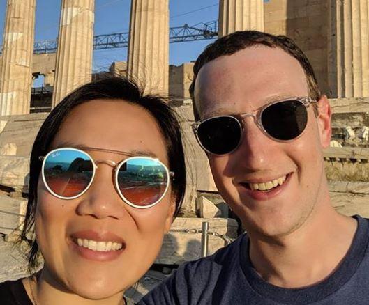 Mark Zuckerberg celebrates 7th wedding anniversary with wife, Priscilla Chan?with a trip to Greece