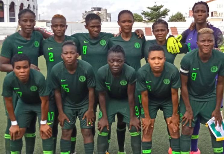 President Buhari congratulates Super Falcons for winning WAFU Women