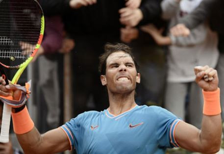 Rafael Nadal defeats Novak Djokovic to win 9th Rome Title