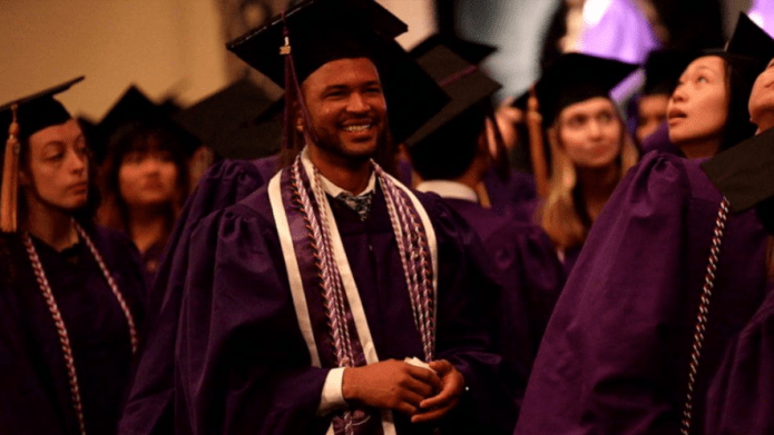 Man graduates with nursing degree from University where he once worked as a janitor