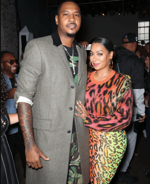 Lala Anthony pens a touching birthday message to her husband Carmelo Anthony as he clocks 35