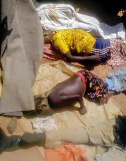 """""""I laid flat on the ground as they opened fire"""" - Survivor narrates how she pretended to be dead as gunmen kill six members of her family in Plateau State"""