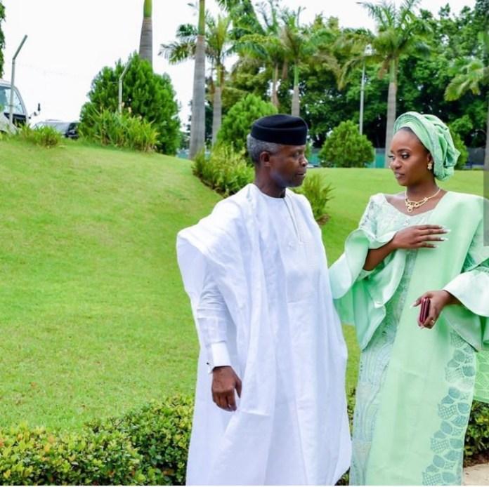 Beautiful photos of VP Yemi Osinbajo and his family