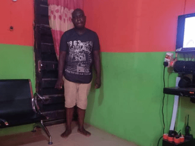 Photo: 41-year-old man arrested for beating wife to death in Anambra