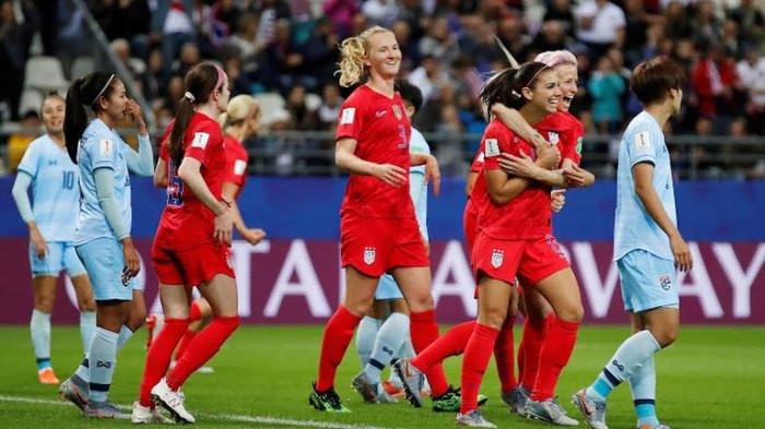 Ruthless USA break FIFA World Cup record after beating hapless Thailand 13 - 0