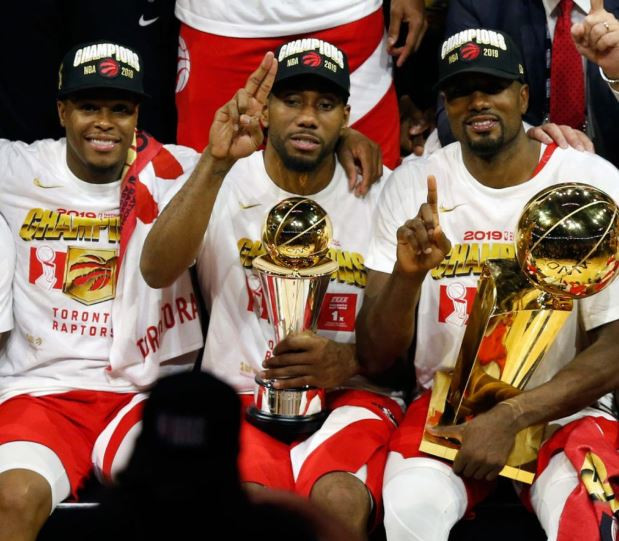 Toronto Raptors win their first ever NBA championship with Game 6 victory over Golden State Warriors