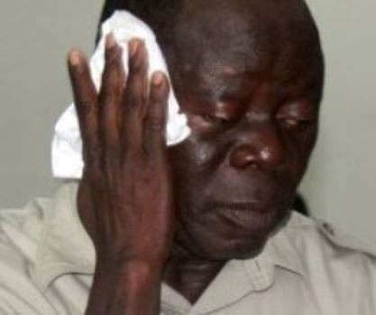 Image result for Thugs beat up Oshiomhole, 14 others in Edo State