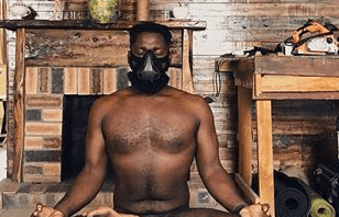 Nigerian photographer Obi Somto proudly shares photos of himself doing yoga naked