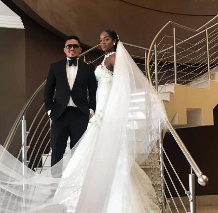 Smash of Bracket marries his Ivorian fiancee in Lagos (Photos/video)