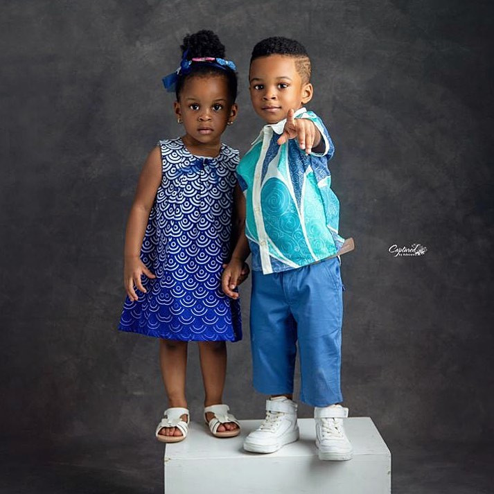 Paul Okoye shares beautiful photos of his set of twins who turn 2 today