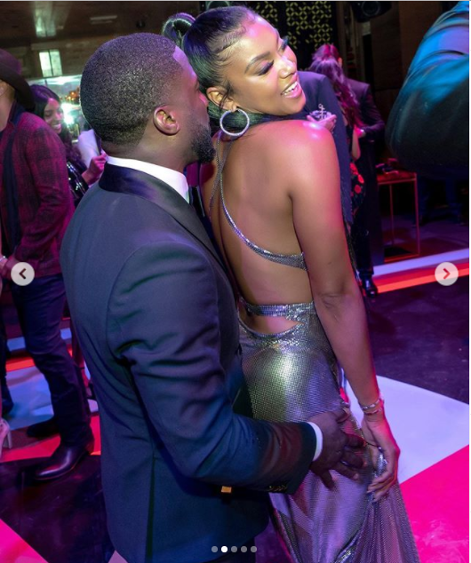 Kevin Hart and wife Eniko ?party hard at his 40th birthday bash (Photos)