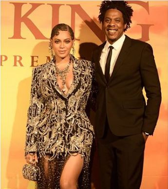 Beyonce and Blue-Ivy turn up in?matching mother-daughter outfit?at the premier of