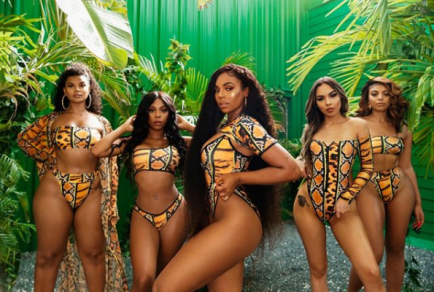 Ashanti flaunts her incredible physique in new swimwear photos