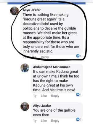 Photos: Kaduna Assembly rejects commissioner nominee for criticizing Governor El-Rufai on Facebook years ago