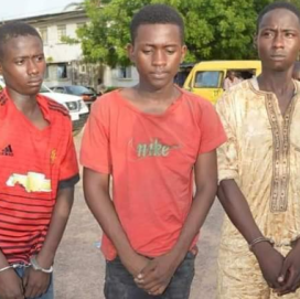 19-year-old man arrested for kidnapping, drugging and killing his 5 year old cousin in Kano (graphic photos)