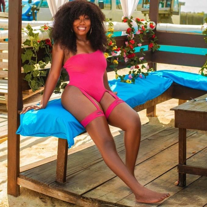 OAP Gbemi Olateru-Olagbegi tensions IG with sexy swimwear photo