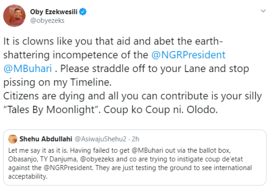 Oby Ezekwesili reacts to claims she is instigating a coup d