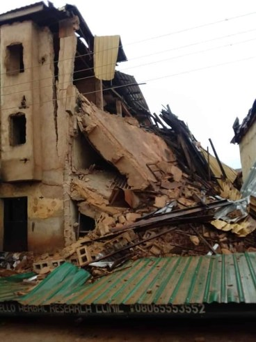 Seven confirmed dead in Jos building collapse