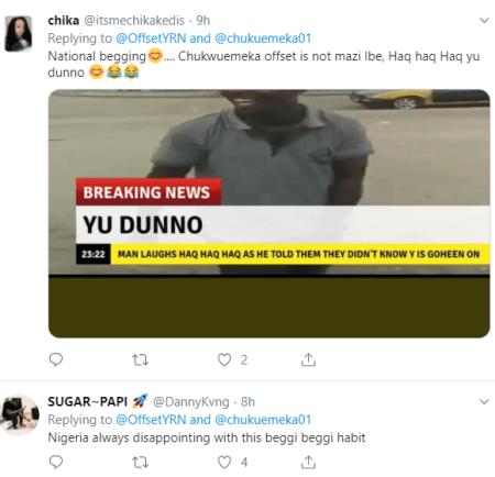 Offset advises Nigerian man who begged him for money on Twitter