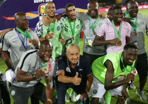 Nigerian Super Eagles move?up 12 spots in latest FIFA