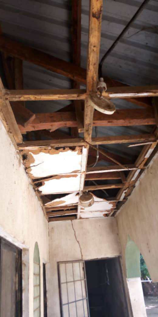 Photos: See the terrible state of the ceilings at Corper