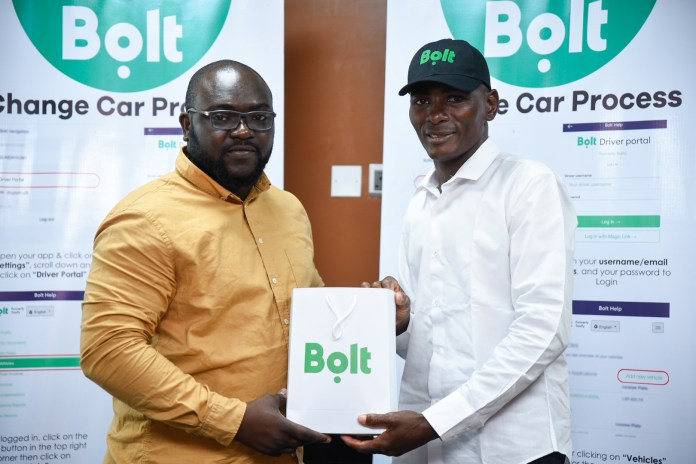 Bolt rewards unique driver who went viral for his generosity