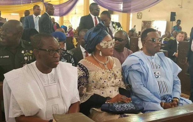 Anambra first lady, Ebele Obiano, steps out in stylish Gucci sunglasses (photos)