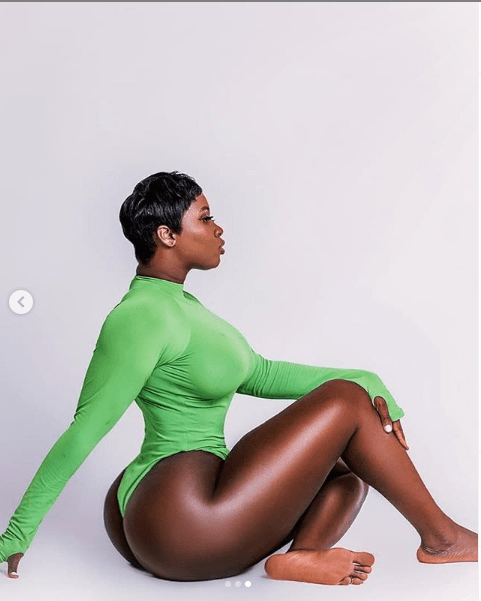 Princess Shyngle puts her massive curves on display in new photos
