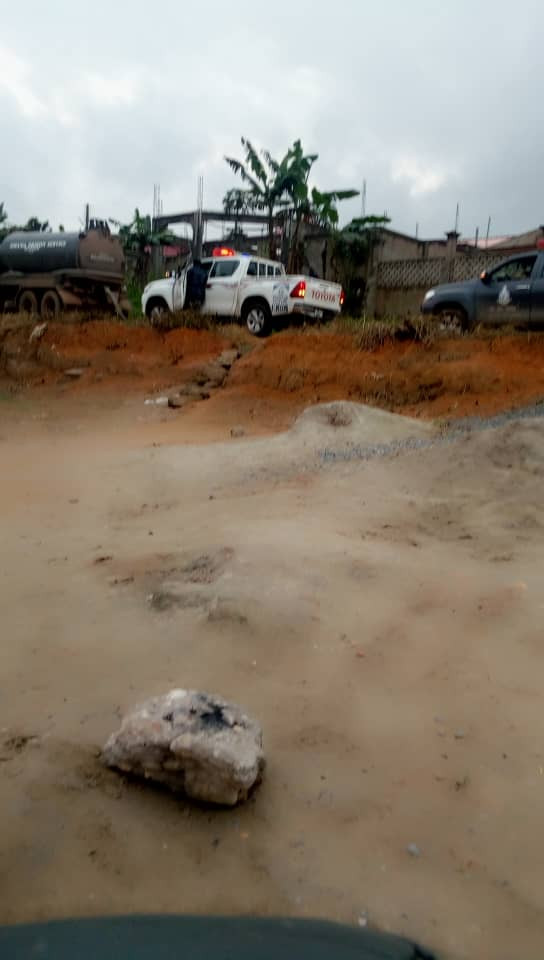 Ghanaian police retrieves corpses of