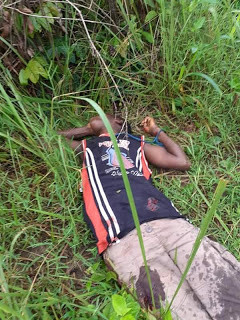 Photos: Police foil attempt to hijack Lagos bound bus in Rivers State, kill 3 suspected kidnappers