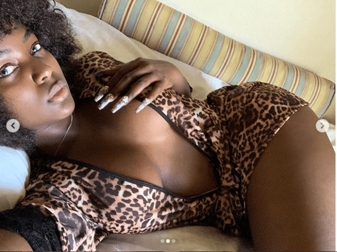 Reality star Amara La Negra shows off cleavage in new raunchy photos