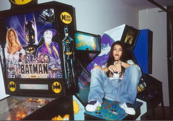 Throwback photos of Kim Kardashian taken in the 90s