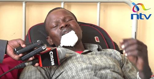 Photos: Kenyan woman bites off husband?s lip during fight