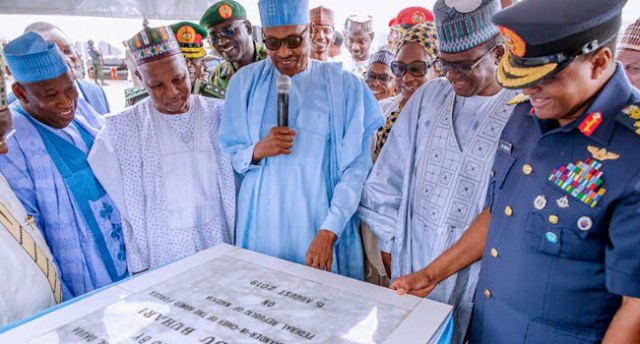 President Buhari commissions Air Force Hospital in Daura (photos)