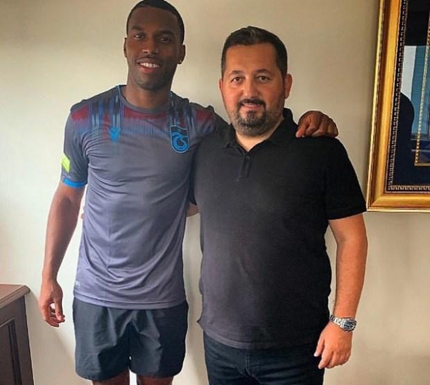 Ex-Liverpool & Chelsea striker, Daniel Sturridge signs for Turkish club Trabzonspor on a three-year deal