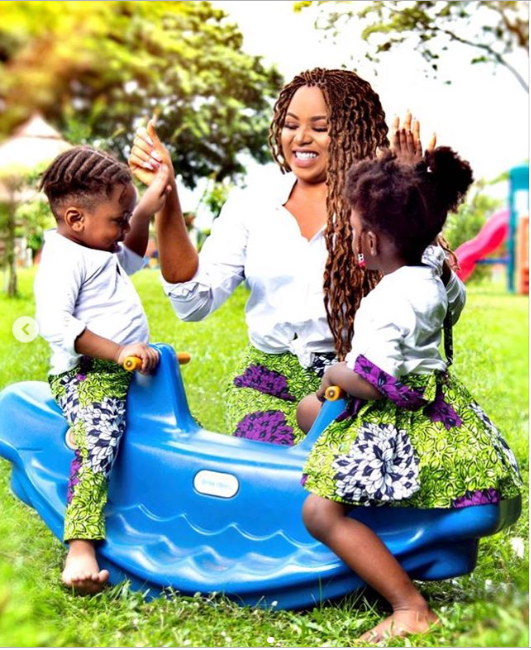 Nollywood Actor, Nosa Rex and wife Deborah?celebrate 4th wedding anniversary with beautiful family photos