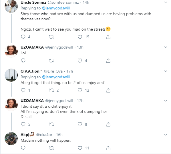 You are going to have serious issues with God if you have sex with a virgin and dump her - Twitter user