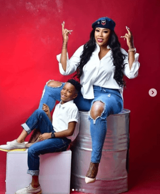 Angela Okorie recounts on son's birthday - When I gave birth to you, you died