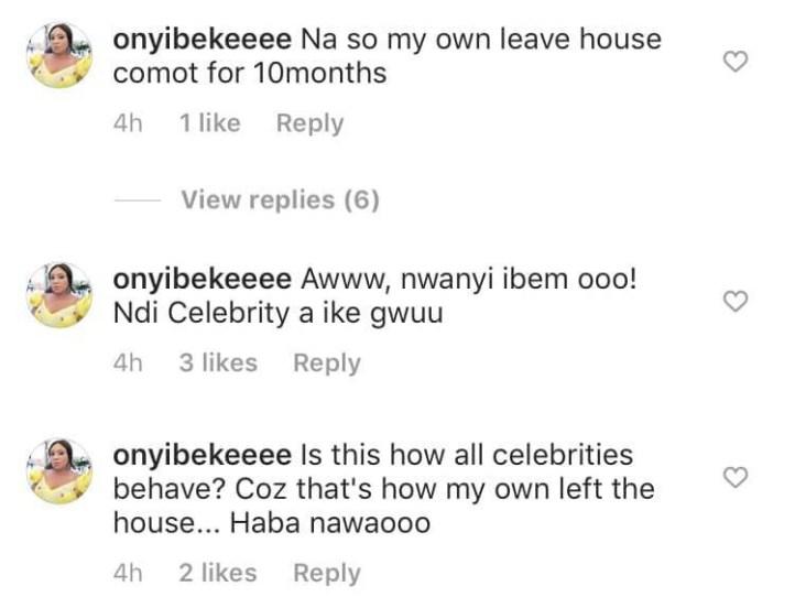 Onyi Adaba reveals her marriage to Actor Ken Erics