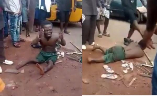 Dwarf beaten mercilessly over missing penis in Enugu lindaikejisblog